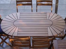 Mesas de madera plegables o rebatibles de incienso para - Mesas de madera plegables para exterior ...