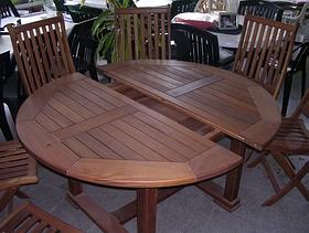Como hacer una mesa redonda de madera mesa de madera para for Como hacer una mesa redonda de madera