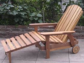 Reposeras de madera para exterior - Sillones que se hacen cama ...