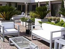 Livings para exterior for Muebles de exterior aluminio