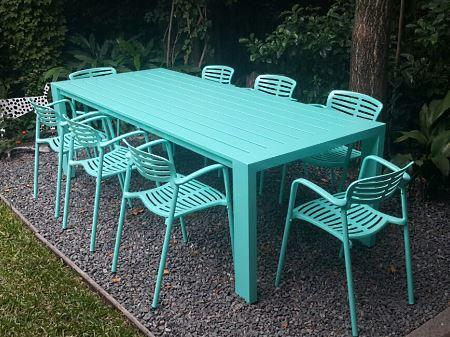 Muebles de jardin en Aluminio de Lineas modernas - JUNO, APOLLO y HERA